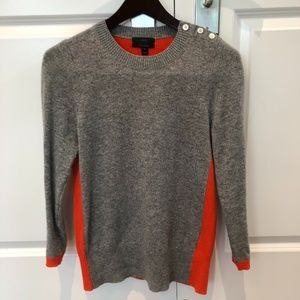 J. Crew Crew neck sweater with cashmere